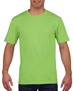 T-SHIRT MEN GILDAN PREMIUM -LIME