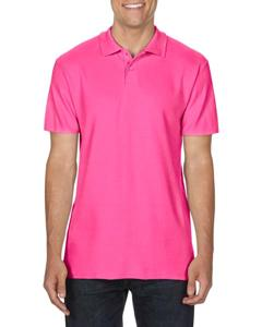 fitted polo shirt Gildan
