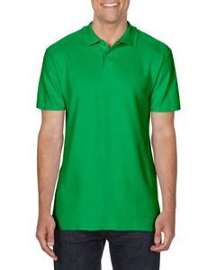 Koszulka polo z bawełny od maeki Gildan