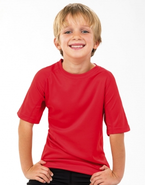 Koszulki dziecięce Spiro z poliestru