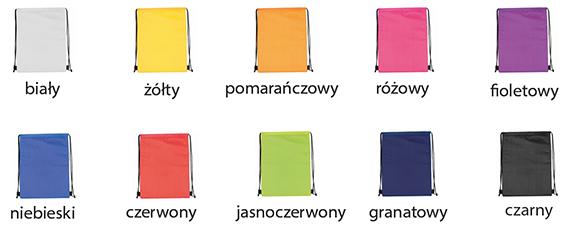 kolory worków z termoizolacją