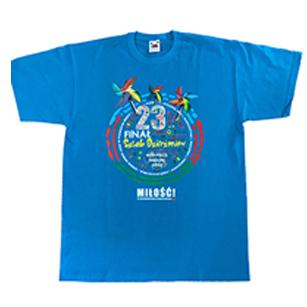 Koszulki dla dzieci na WOŚP z nadrukami
