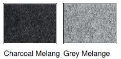 Kolory toreb z filcu, jasny i ciemny szary