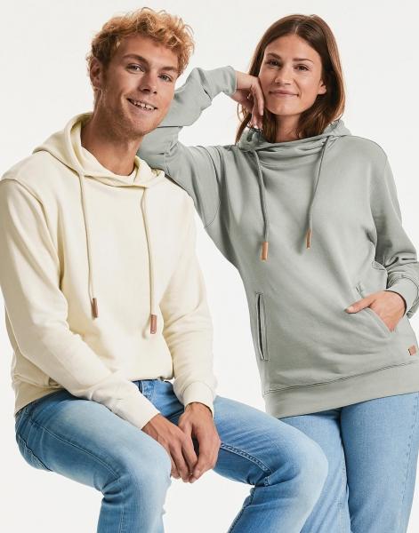 Russell - grube bluzy z dzianiny organicznej
