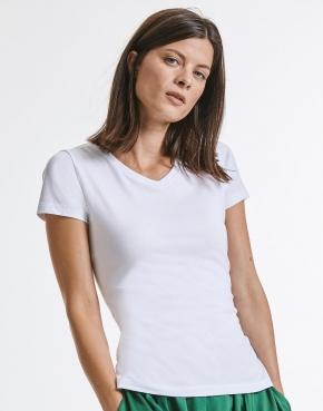 Russell koszulka damska z bawełny organiczne