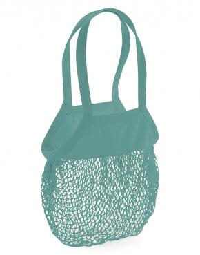 Siatkowa torba na zakupy z bawełny organicznej