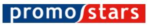Logo marki Promostars producenta odzieży reklamowej