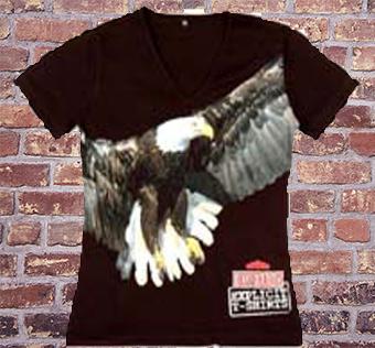 Zdjęcie koszulki z dużym nadrukiem