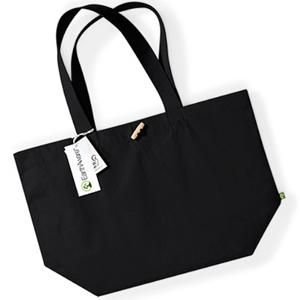 Zdjęcie torby canvas-czarna