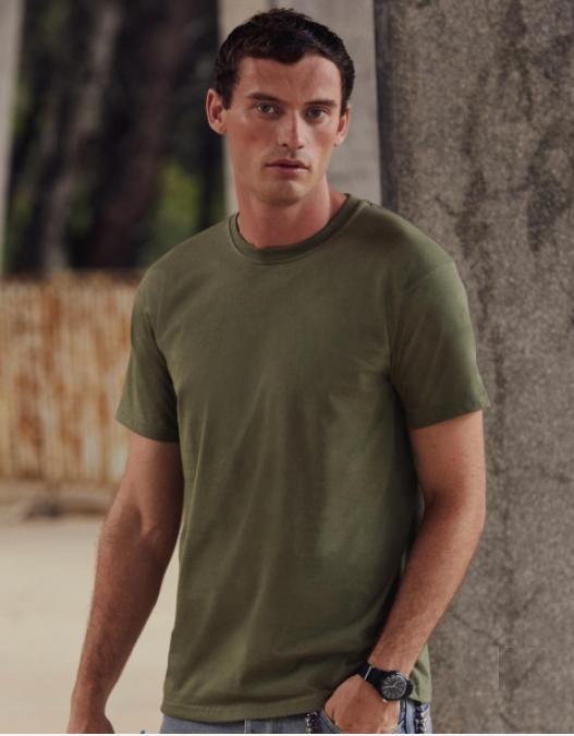 T-Shirt Fruit Of The Loom Super Premium